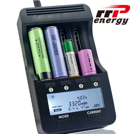 Fast Charger LCD Battery Charger Lithium Ion NIMH NICAD AA AAA 5V 1A USB Port