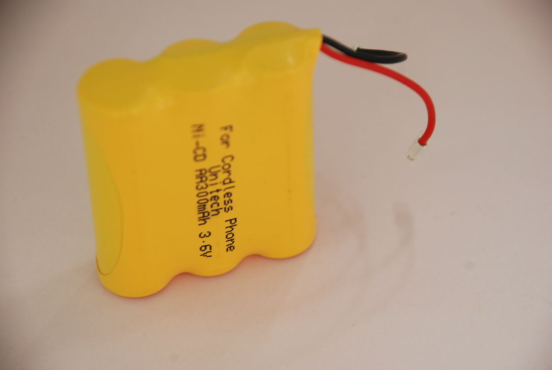 3.6V Nicd Battery Packs AA300 For Cordless Phone