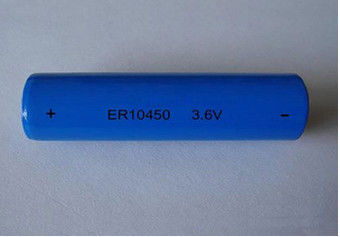 High Temperature 750MAH Li-Socl2 Battery 3.6V , Primary Lithium Battery