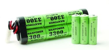 SC 3300mAh 7.2V Nimh Battery Pack 10C برای R / C سرگرمی UL CE